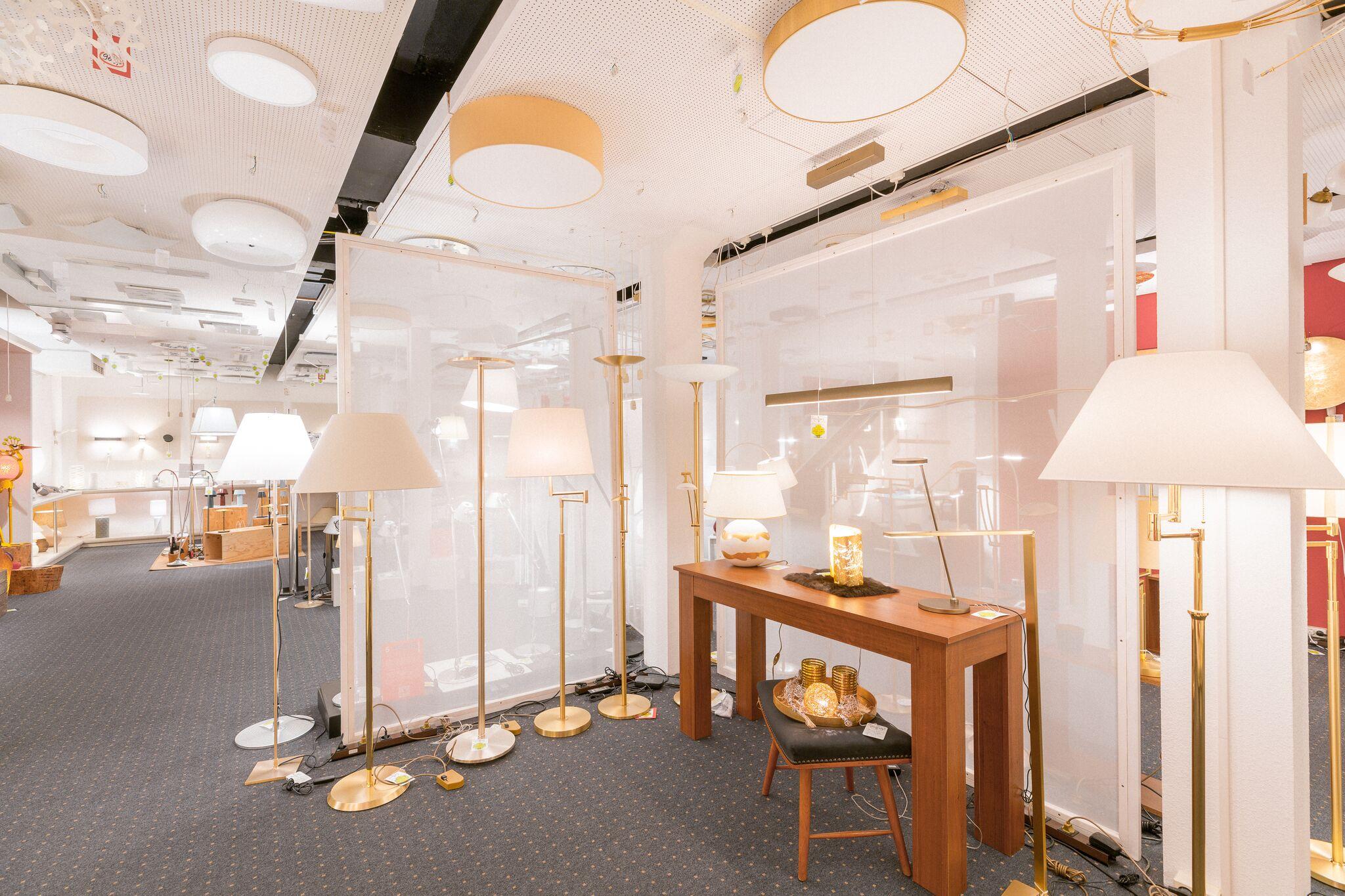 Einrichtungshaus vanDorp Bonn Lampen und Leuchten Sortiment