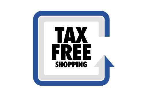 Einrichtungshaus vanDorp Bonn Service Steuerfrei Tax free Icon