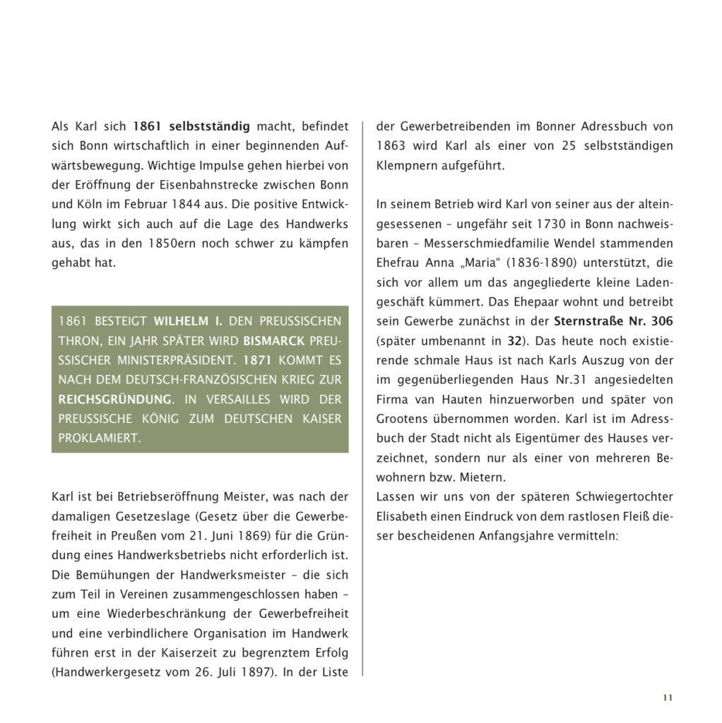 Einrichtungshaus vanDorp Bonn Geschichte Gründerjahre
