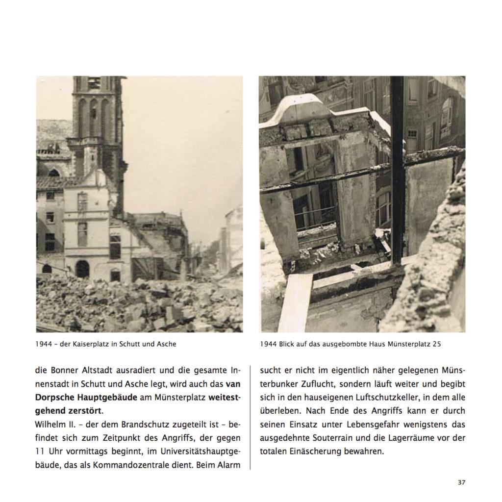 Einrichtungshaus vanDorp Bonn Geschichte Weltkriege