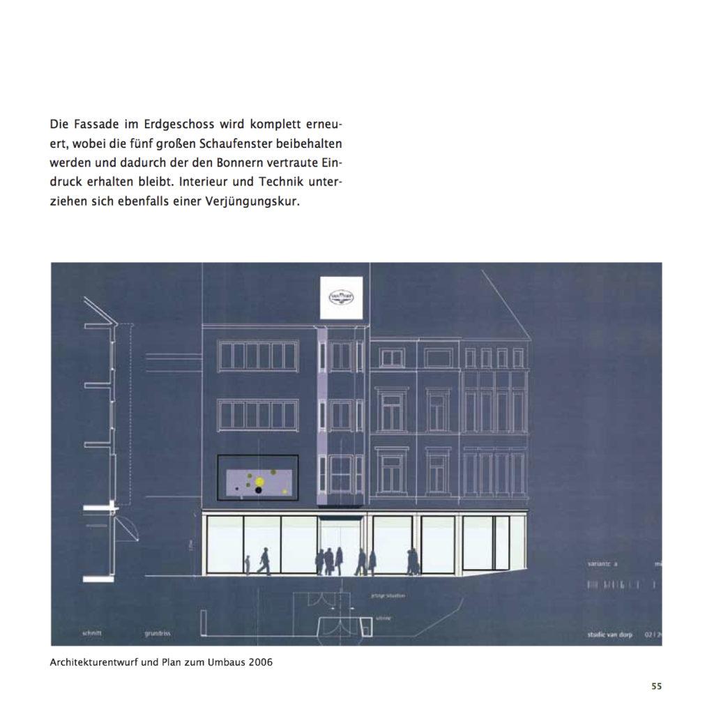 Einrichtungshaus vanDorp Bonn Geschichte Umbau